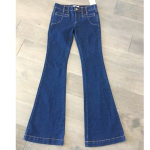 Free People Flare Jeans NWT